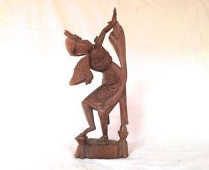Holzfigur Tänzerin geschnitzt Thailand? Figur
