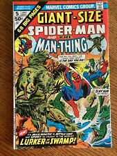 Giant-Size Spider-Man 5 Man-Thing Gerry Conway Ross Andru Gil Kane 1975