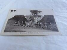 LA GIBOIRE ILE OLERON 17 - Les tentes - CARTE ANCIENNE CPA !!!