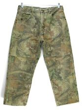 Wrangler - Camo Jeans - Tag Size 36x30 - Mens - Distressed