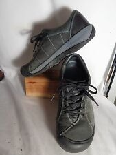 Keen Dk. Gray Leather, Lace Up Athletic Shoes, Womens 9/39.5