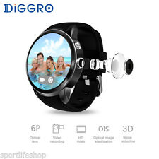 Diggro Android5.1 MTK658 1+16GB 3G WIFI 2MP Camera Heart Rate Smart Phone Watch