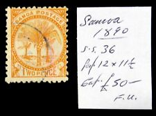 More details for samoa 1890 - 2d fine/used as described ns379