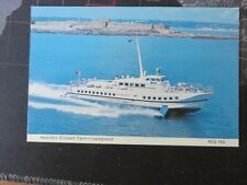 Hydrofoil, Elizabeth Castle in background.Jersey 1980/90s