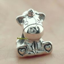 925 Sterling Silver Bruno The Unicorn Charm Bead Fit European Bracelet New 2018