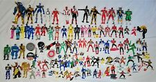 Bandai Power Rangers Action Figure & Toys Huge Lot~100+ Figures~7+ pounds