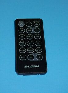 SYLVANIA SKCR2713 Under-Cabinet Bluetooth CD Clock Radio Replacement Remote