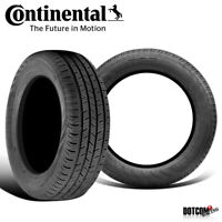 2 X New Continental ContiProContact 245/45R18 100H All-Season Grand Touring Tire