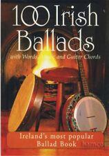 100 Irish Ballads Volume 1 Chord & Melody Songbook Music Book
