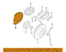GM OEM Rear Brake-Backing Plate Splash Dust Shield 25877333