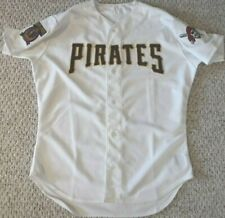 PITTSBURGH PIRATES VINTAGE GAME WORN JERSEY 1997 BB WITH CLEMENTE PATCH SET 1