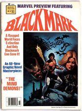 Marvel Preview #17 (1979; VF) Gil Kane's Blackmark
