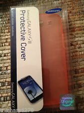 Genuine Samsung Protective Cover for Samsung Galaxy S3 Pink NEW