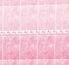 Dolls House Wallpaper 1/12th 1/24th scale Bathroom Quality Paper #12T