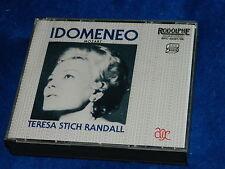2 CD mozart IDOMENEO Teresa Stich Randall 1986 RODOLPHE RPC 32467/68 tarres DOWN