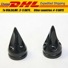 Motorcycle CNC Billet Ben Hur Spike bar ends fit for Universal HONDA bike BLACK