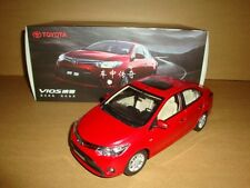 1/18 China 2013 New toyota vios model red color + gift