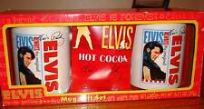 ELVIS PRESLEY MUG GIFT SET WITH HOT COCOA MIX IN BOX