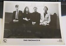 The Fibonaccis RARE 8 x 10 Promo Piece Index  Records Los Angeles Uber Hip Band