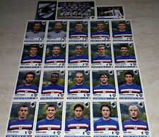 FIGURINE CALCIATORI PANINI 2012-13 SQUADRA SAMPDORIA CALCIO FOOTBALL ALBUM