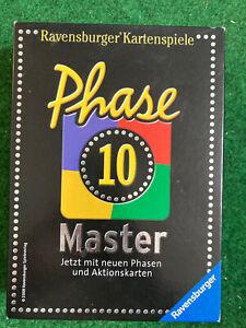 Phase 10 Master Kartenspiel original Ravensburger, gebraucht
