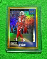 JORDAN POYER PRIZM GOLD ZONE CARD SP#/50 BUFFALO BILLS 2020 SCORE FOOTBALL PRIZM