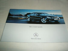 Mercedes C Class Saloon brochure Mar 2004
