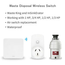 Food Waste Disposers Switch Remote Control AU Plug 16A No Drilling No Pipe
