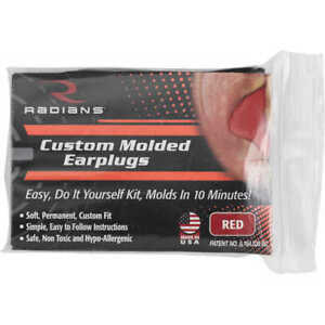 Radians CEP001 Custom Molded Easy Fit Reusable Ear Plugs, Molds in 10 Minutes