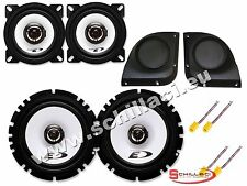 Kit 4 Speakers for FIAT PUNTO 2/3  Alpine with boxes