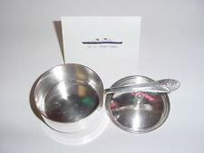 SS UNITED STATES LINES  Silver Sauce Pot w/Lid  /  USL-52  /  Top Condition