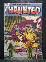 THIS MAGAZINE IS HAUNTED #21 Nov.1954  Charlton/Fawcett Comics FR 1.0