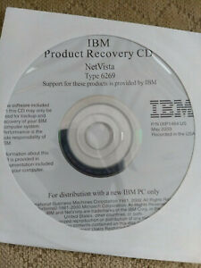 IBM NetVista 6269 recovery CD