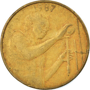 [#813019] Coin, West African States, 25 Francs, 1987, EF(40-45)