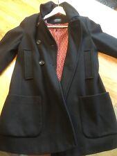 Damen Marc O´Polo Wollmantel mit Knöpfe in schwarz in Gr. 36/ S