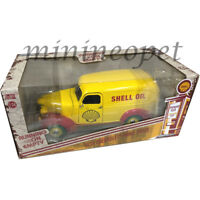 GREENLIGHT 18237 1939 CHEVROLET PANEL TRUCK SHELL OIL 1/24 DIECAST YELLOW Chase