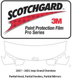 3M Scotchgard Pro Paint Protection Film Pre Cut 2017-2021 Jeep Grand Cherokee
