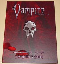 VAMPIRE THE REQUIEM STORYTELLER'S SCREEN  (White Wolf 2004 Roleplaying)  VF/NM