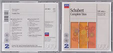 Schubert - Complete Trios - Scarce German 1993 2CD
