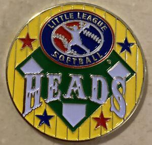 Yellow Softball Little League Umpire Flip Coin