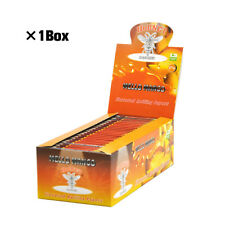 1 BOX HORNET 1 1/4 Size Mango Fruit Flavored 78MM Cigarette Rolling Papers