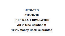 312-50v10 Certified Ethical Hacker Exam (C|EH v10) Test  QA PDF&Simulator