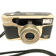 Konica-Minolta Z-UP 150 VP Date 35mm Camera (38mm - 150mm Zoom) W/Strap & Case