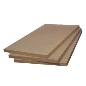 Vermiculite Fire Board 1000mm x 600mm x 25mm, Narrowboat, Home, Stove