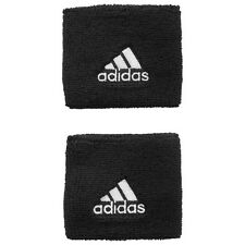 Adidas Single Width Wristbands - Black/White
