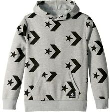 Converse Big Boys Chevron Star Printed Pull-Over Hoodie Size: L (12-13 yrs) NWT