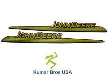 New John Deere LH & RH Upper Hood Decal Set GT245 GT225 GT235 UP S/N