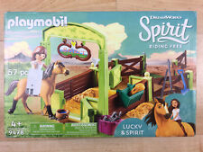 Playmobil DreamWorks Spirit, Lucky and Spirit with Horse Stall