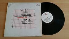 ARTISTI VARI (trilli..)- LE PIU' BELLE GENOVESI! - RARE LP 33 GIRI - ITALY PRESS