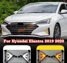 FIT For Hyundai Elantra 2019-2020 LED Front fog lights daytime running lights